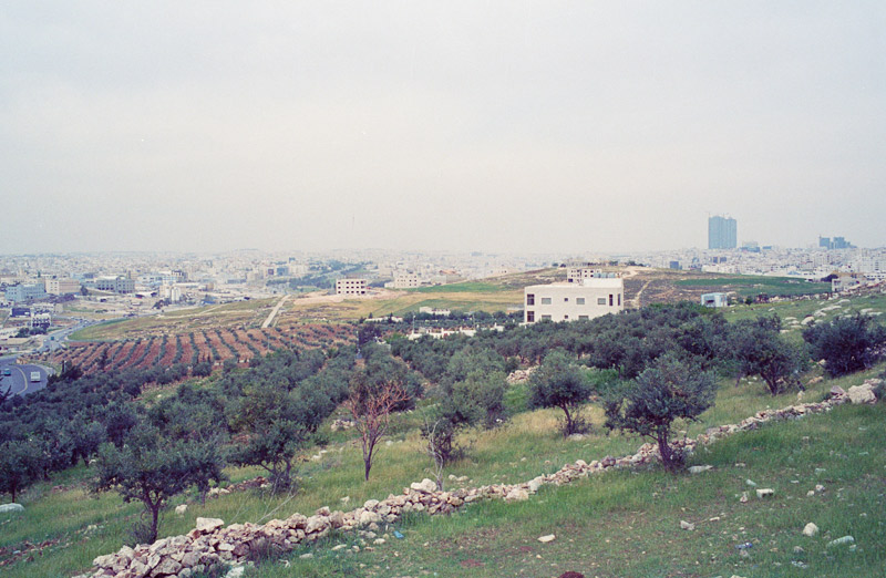 View from Marj El-hamam, Amman 2013