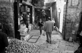 Friday Morning in the Old City, Jerusalem 2011