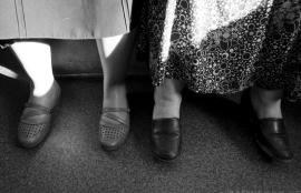 Bosphorus ferry shoes, Istanbul 2011