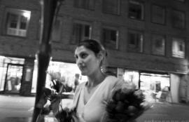 Flower Seller in Punavuori, Helsinki 2011