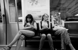 In the Metro, Bucharest 2011