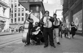 Street band, Helsinki 2011