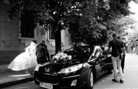 Here comes the bride, Vratsa, Bulgaria 2011