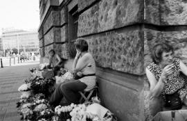 Flower Sellers - Smoking, Belgrade 2011