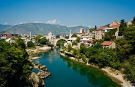 Neretva river, Mostar 2011