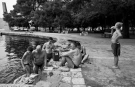 Mussel pickers, Kotor 2011