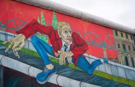 Berlin Wall East Side Gallery, 2012