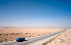 Lonesome Truck, الحسينية, Southern Jordan, 2012