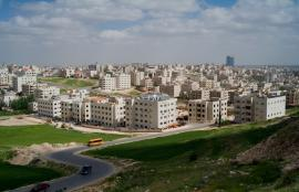View from Khalda, Amman 2012