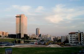 View from Umm Al-Summak, Amman 2012