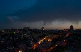 Storm Brewing over Jabal Amman, 2012