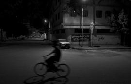Night ride, Al Aguza, Cairo 2012