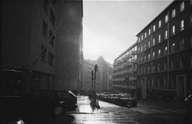 Pursimiehenkatu under Heavy Rain, Helsinki 2011
