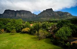 La vue de chez Tara, Cape Town 2012