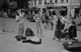 Street band, Friedrichshain 2012