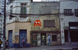 Space Invader in São Paulo, 2013