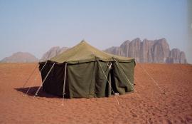 Tent, Wadi Rum, Jordan 2013