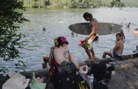 Meanwhile in Berlin, Schlachtensee 2013
