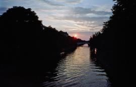 Sunset, Neuköln 2013