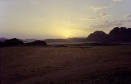 Sunset in Wadi Rum, Jordan 2013
