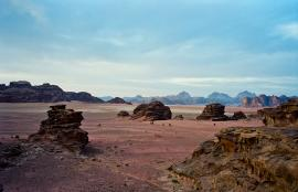 Early morning in Wadi Rum,