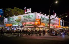 Nathan's Coney Island Brooklyn 2016
